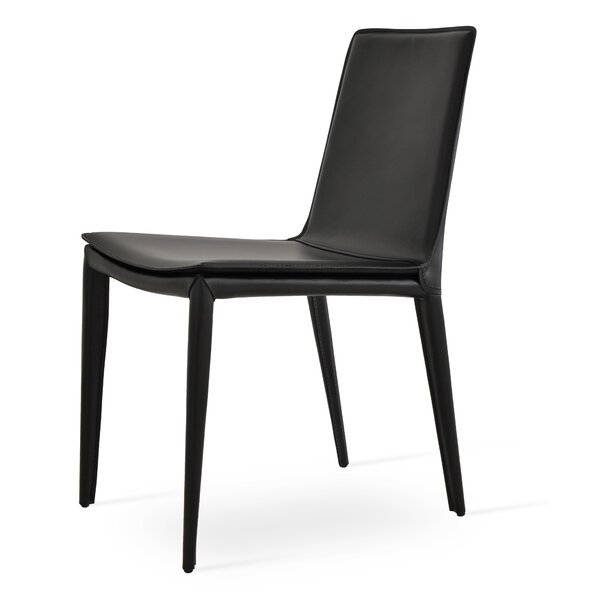 Tiffany Leather Side Chair by sohoConcept