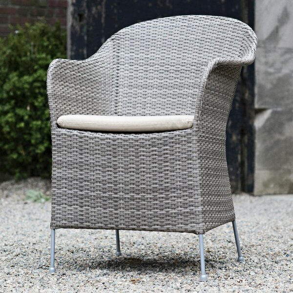 Masboro Patio Dining Chair with Cushion by Orren Ellis