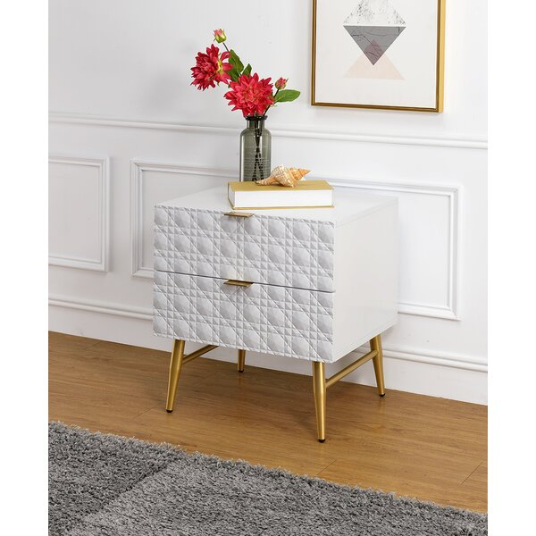 Brittain Ii 2 Drawer Nightstand by Mercer41