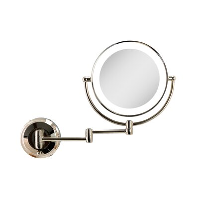 Lighted Wall Mounted Makeup Amp Shaving Mirrors You Ll Love