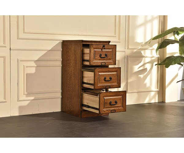 Sarthak 3 Drawer Vertical Filing Cabinet by Darby Home Co