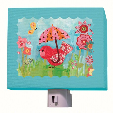 Umbrella Birdies Night Light by Oopsy Daisy
