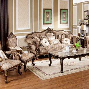 Demetrius 2 Piece Living Room Set by Astoria Grand