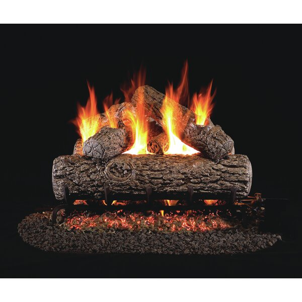 Natural Vent Natural Gas/Propane Logs By Real Fyre