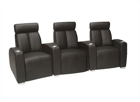 Ambassador Home Theater Row Seating (Row Of 3) By Bass