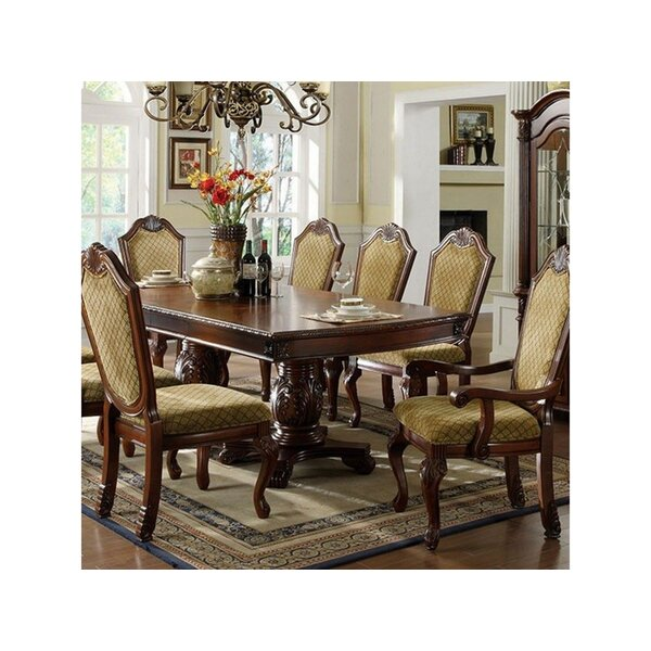 Burbach Valley Formal Solid Woo Dining Table by Astoria Grand Astoria Grand