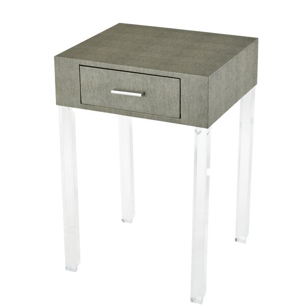 Cerie End Table With Storage By Mercer41