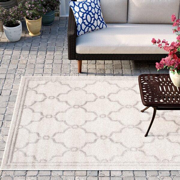 Mckamey Ivory Indoor/Outdoor Area Rug by Three Posts
