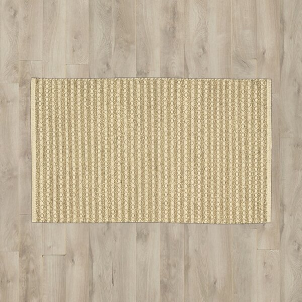 Caicos Light Brown Area Rug by Bay Isle Home