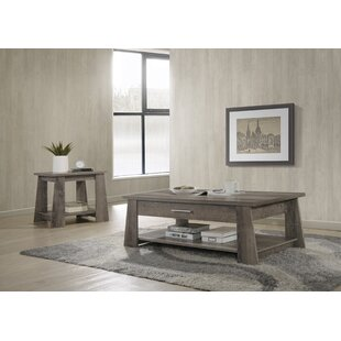 Read Reviews Melendez 2 Piece Coffee Table Set by Wrought Studio