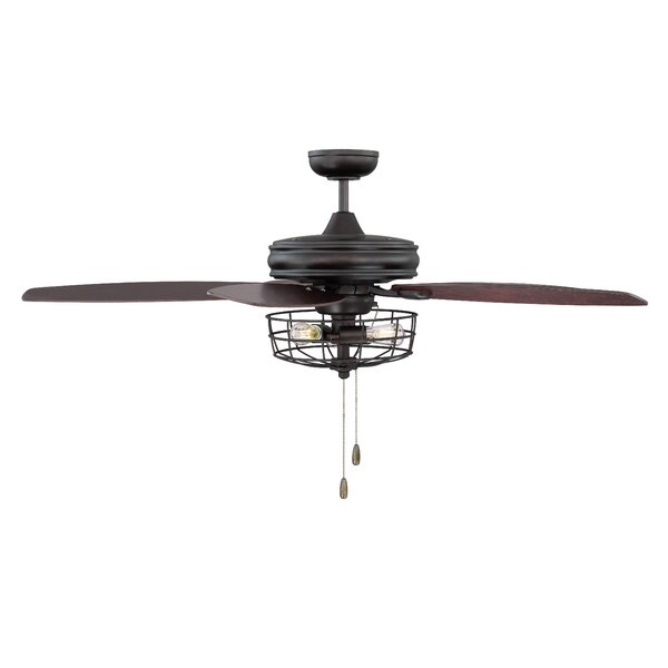 Glenpool 52 5-Blade Ceiling Fan by Trent Austin De
