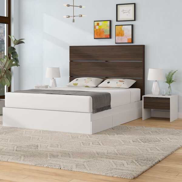 Bourquin Platform 2 Piece Bedroom Set by Mack & Milo