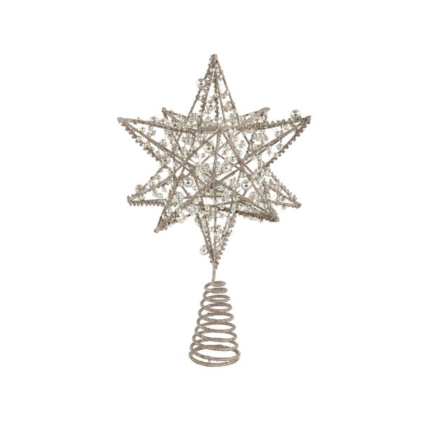 Beebe Wire Star Tree Topper by The Holiday Aisle