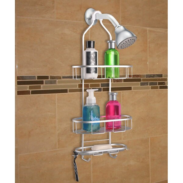 3 Shelf Rustproof Shower Caddy by Utopia Alley