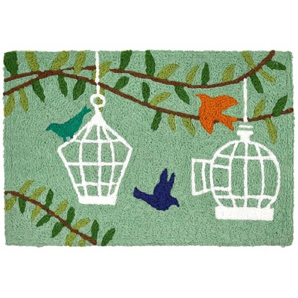Fairwood Bird Cages Kitchen Mat