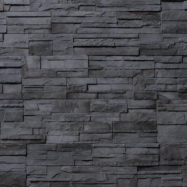 Cascade Mountain Random Sized Concrete Composite Rock Wall Tile in Vancouver by Emser Tile