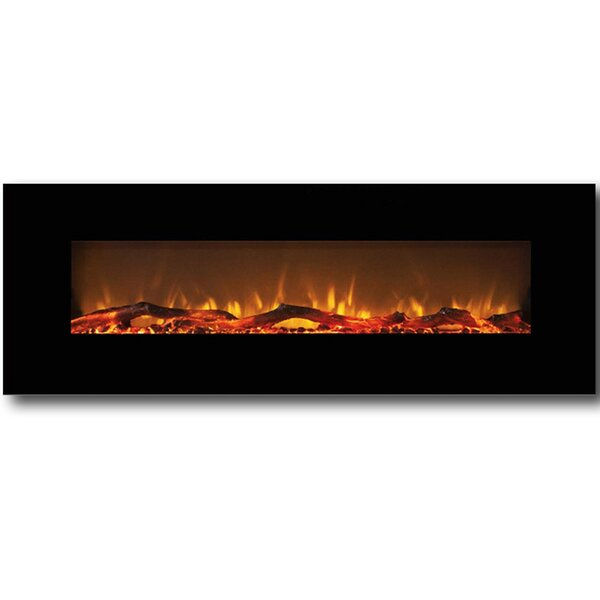 Byrns Wall Mounted Electric Fireplace by Brayden Studio