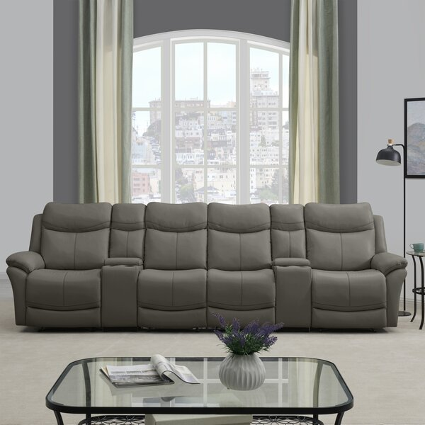 Cheryll 4 Seat Wall Hugger Reclining Sofa By Red Barrel Studio New Design