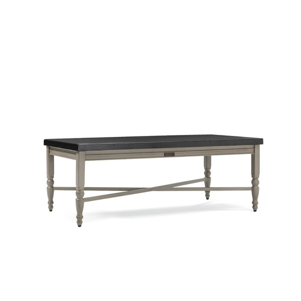 Grayson Aluminum Coffee Table by Winston