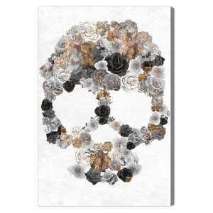 'Sticks & Stones' Graphic Art Print on Canvas by Oliver Gal