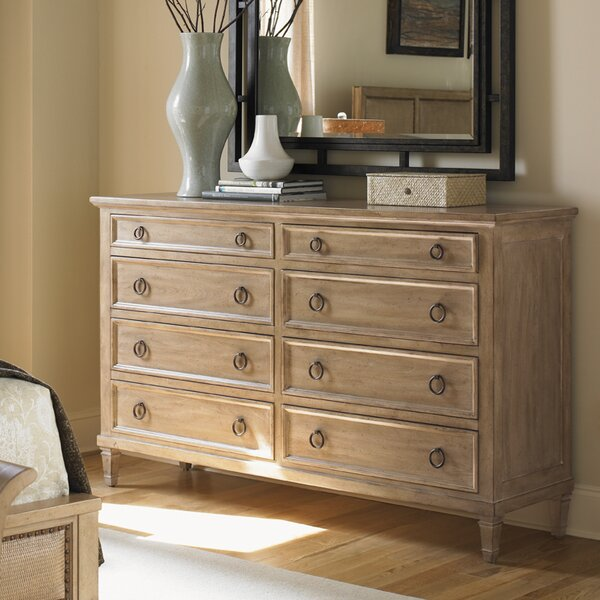 Monterey Sands Hollister 8 Drawer Double Dresser by Lexington