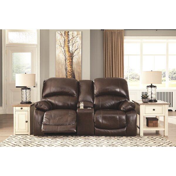 Buy Online Quality Dunkelberger Reclining Loveseat by Millwood Pines by Millwood Pines