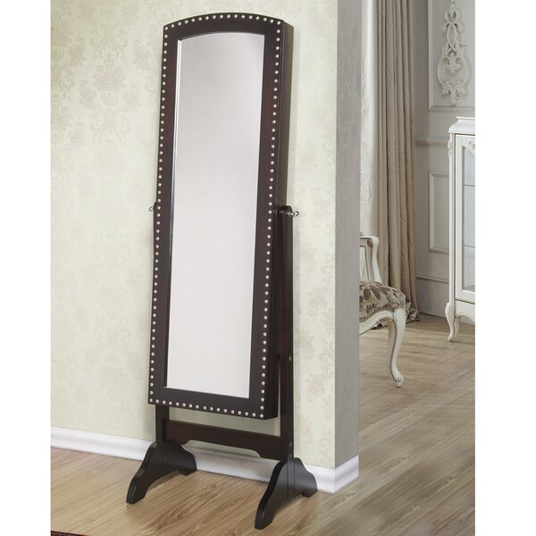 Abby Jewelry Armoire with Mirror by Best Desu, Inc.