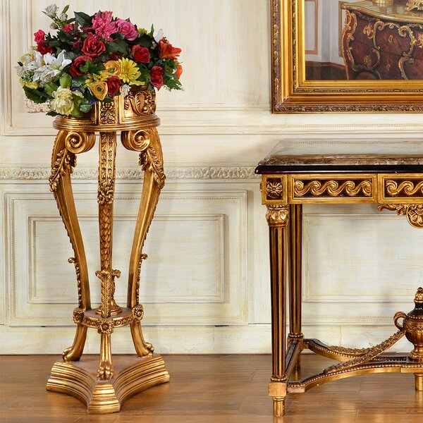 Aurora Elegant Plant/Telephone Table Stand By Astoria Grand