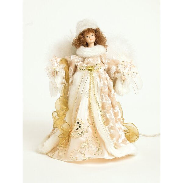 Animated Angel Tree Topper by The Holiday Aisle