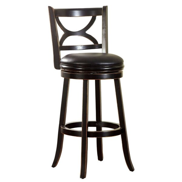 Amery 29 Swivel Bar Stool by Darby Home Co