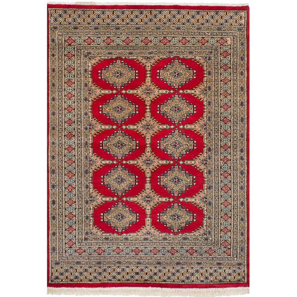 One-of-a-Kind Do Handmade Wool Red Area Rug by Isabelline