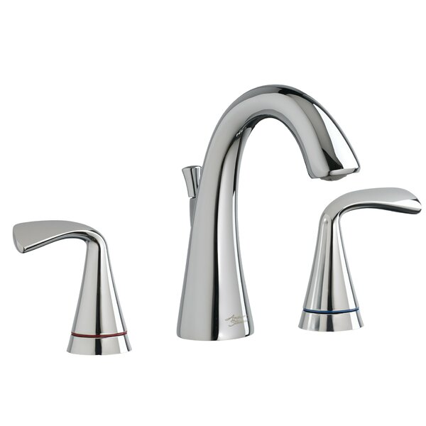 Fluent Widespread Bathroom Faucet with Drain Assembly by American Standard