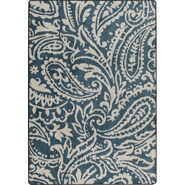 Mix and Mingle Blue Cashmira Empire Rug by Milliken