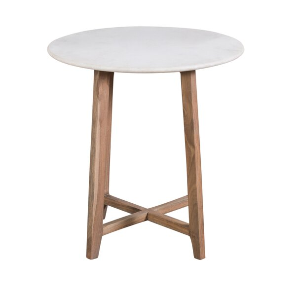 Permelia End Table by Bungalow Rose Bungalow Rose