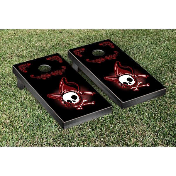 Pirate Girl Version 2 Cornhole Game by Victory Tailgate