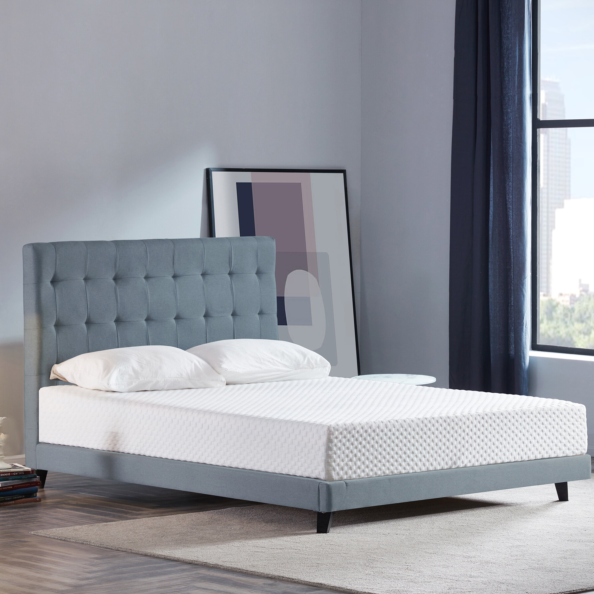 Sofa Bed Mattress Under 8 Thick Memory Foam Mattresses You Ll Love In 2021 Wayfair