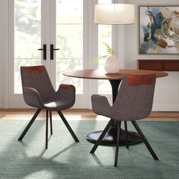 Frederick Vintage Upholstered Dining Chair (Set of 2) by Langley Street