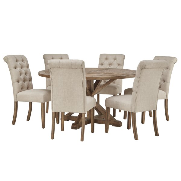 Harold 7 Piece Dining Set by Laurel Foundry Modern Farmhouse Laurel Foundry Modern Farmhouse