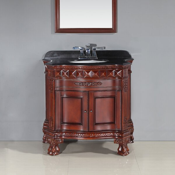 Buckingham 36 Single Bathroom Vanity Set by Ove Decors