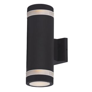 Affordable Price Leilla 2-Light Outdoor Sconce By Orren Ellis