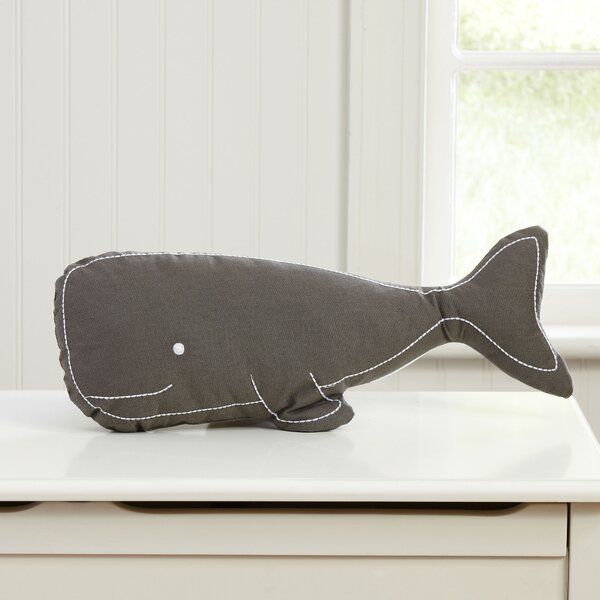 Swell Whale Pillow by Birch Lane Kids™