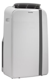 12,000 BTU Dual Hose Portable Air Conditioner with Remote by Danby