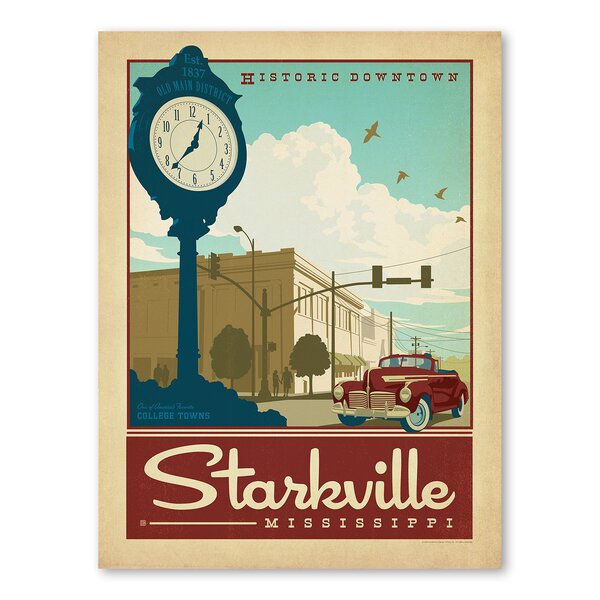 Starkville Vintage Advertisement by Americanflat