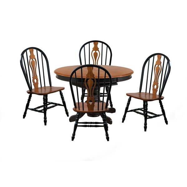 Ryne 5 Piece Dining Set by Loon Peak