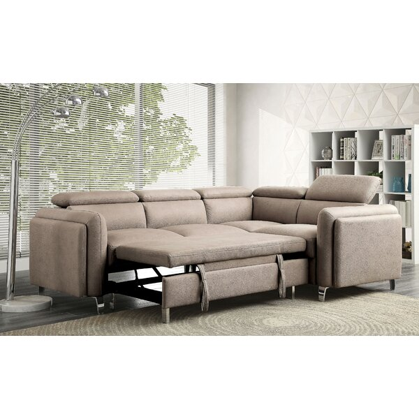 Pamelia Right Hand Facing Sleeper Sectional By Latitude Run