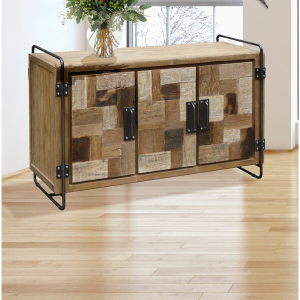 Andujar Solid Wood TV Stand For TVs Up To 65