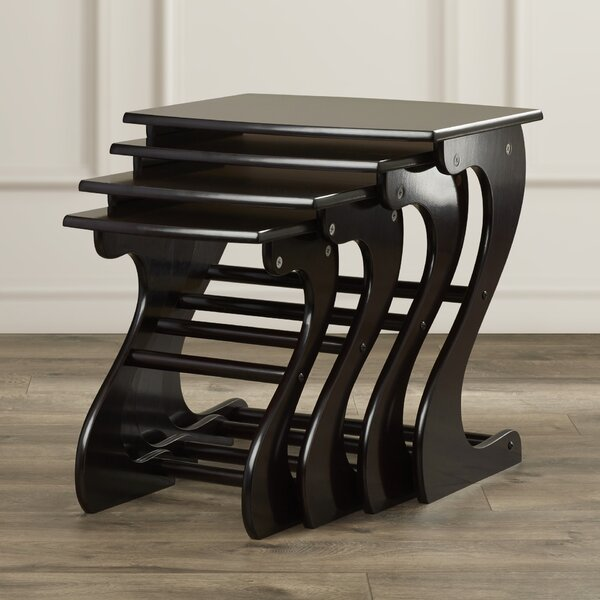 Beloit 4 Piece Nesting Tables by Charlton Home