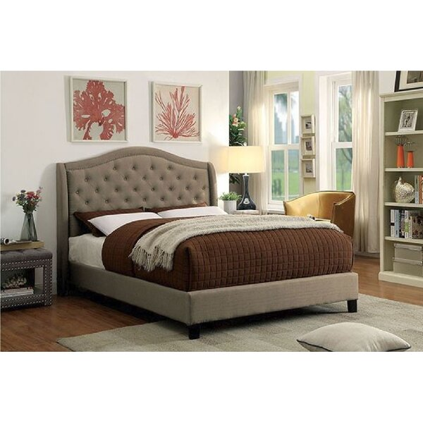 Borton Upholstered Platform Bed by Darby Home Co
