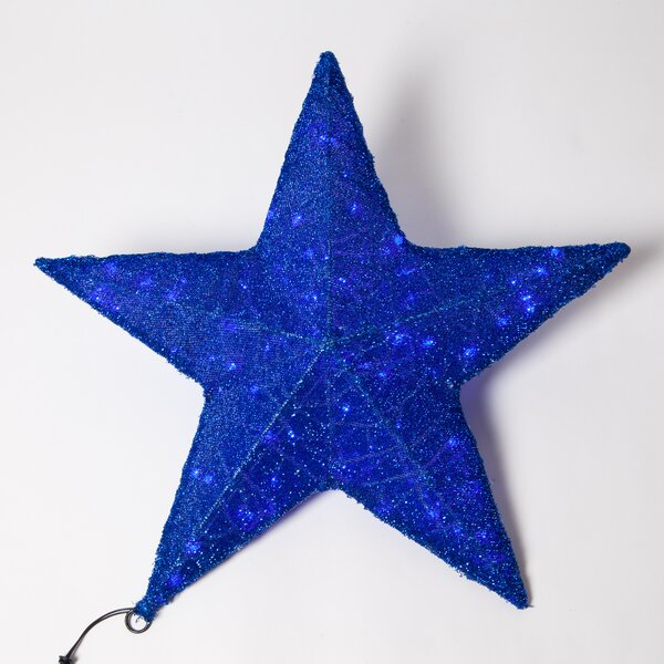 Metallic Mesh LED 80 Light Star Lighting by The Holiday Aisle