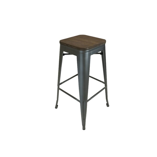 Peetz 30 Square Bar Stool (Set of 4) by Trent Austin Design